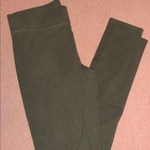 Size small Olive green Aerie chill leggings